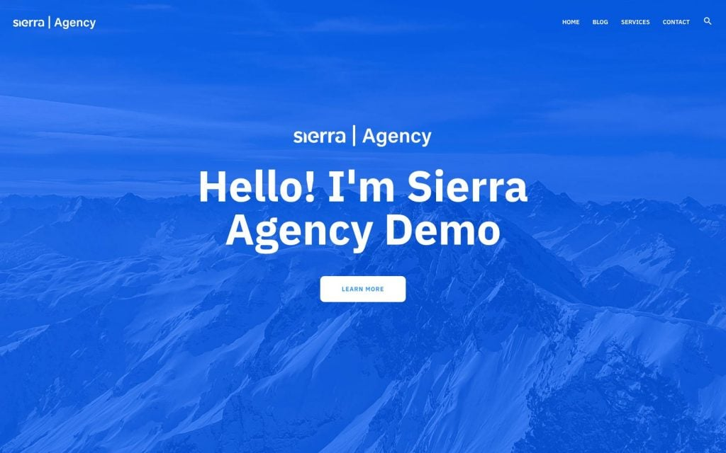 WP Sierra Theme - Speed, Design, Usability and Growth for